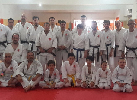 Technical Seminar and Black Belt Test in Argentina