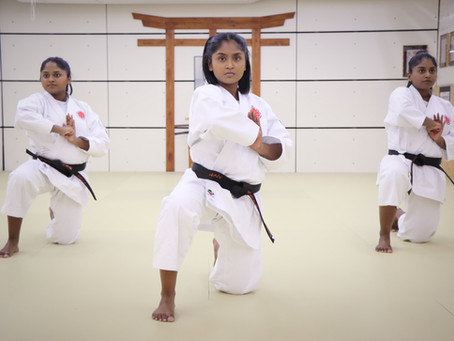 When karate meets education...