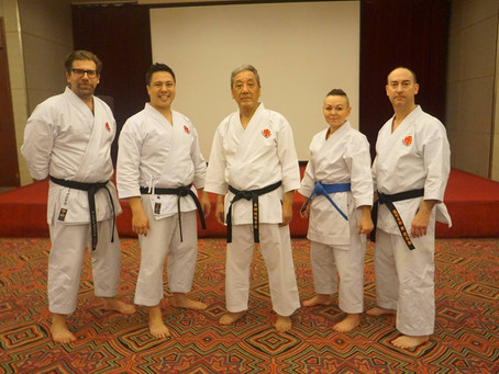 The strength of Itosu-kai