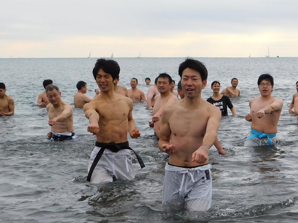 Itosu-kai Winter Beach Training 2019