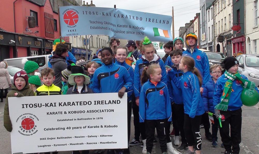 St. Patricks Day Parade2 Itosu-kai Ireland