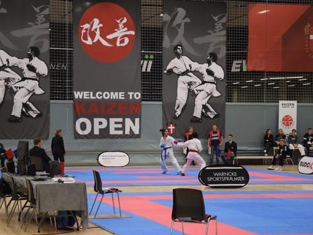 2017 Kaizen Danish Open Karate tournament was held!