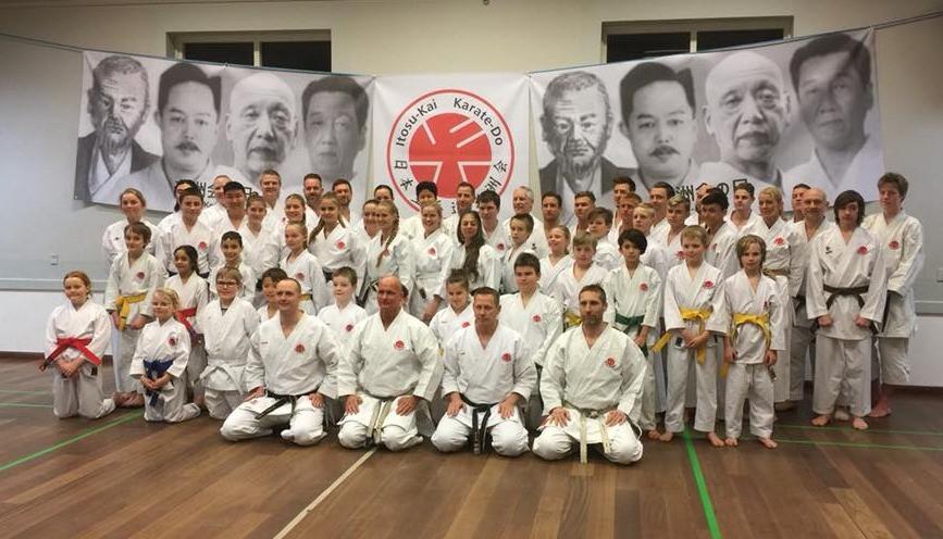 Denmark celebrates Itosu-ryu 78th birthday!