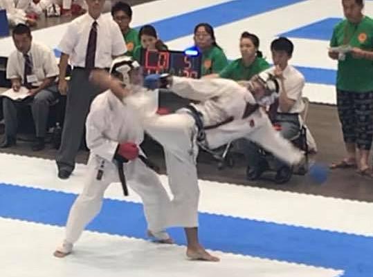 Team Itosu-kai Kumite 2