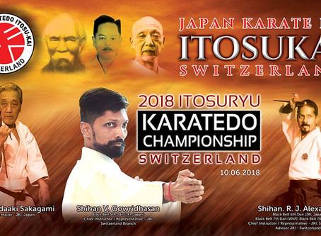 The first Itosu-kai Karate tournament was held in Switzerland!