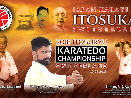 The first Itosu-kai Karate tournament was held in Switzerland!