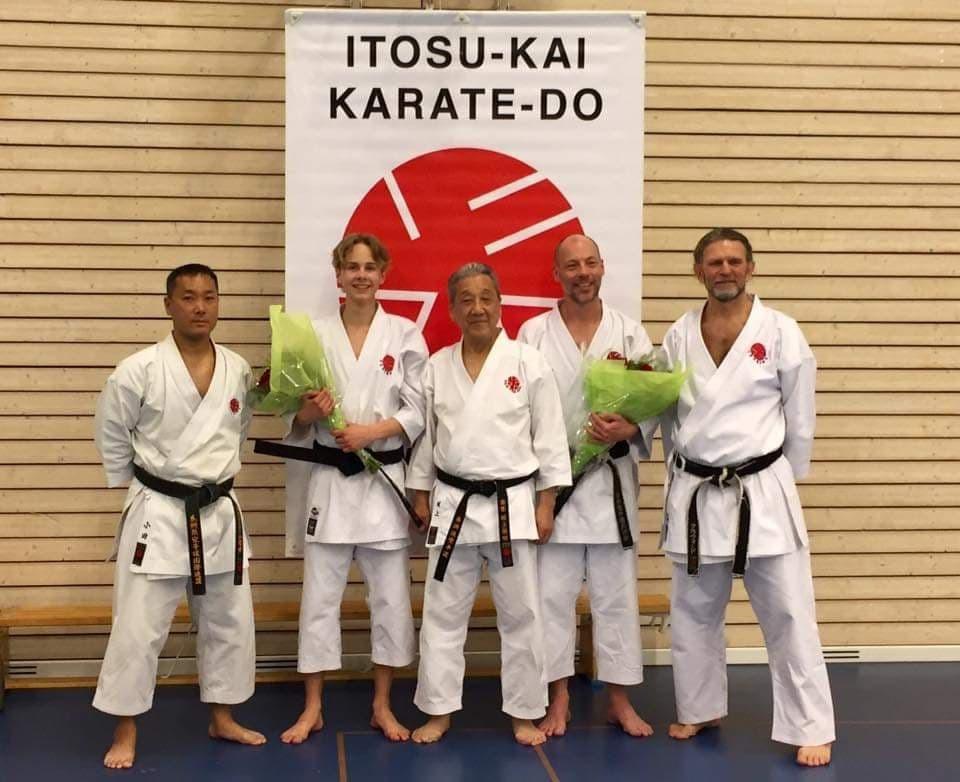 Graduation Ceremony in Itosu-kai Sweden