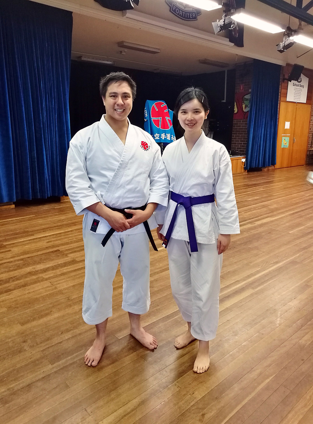Chief Instructor of Itosu-kai Australia, Mr. Howard Leong