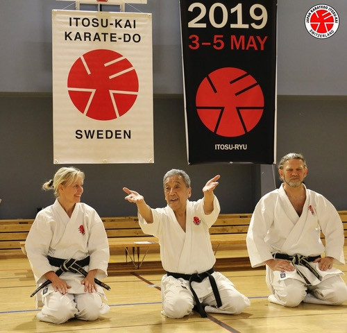 Itosu-kai Soke Sakagami