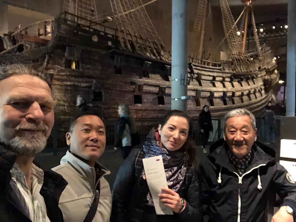 Vasa Museum at Itosu-kai Soke Sakagami
