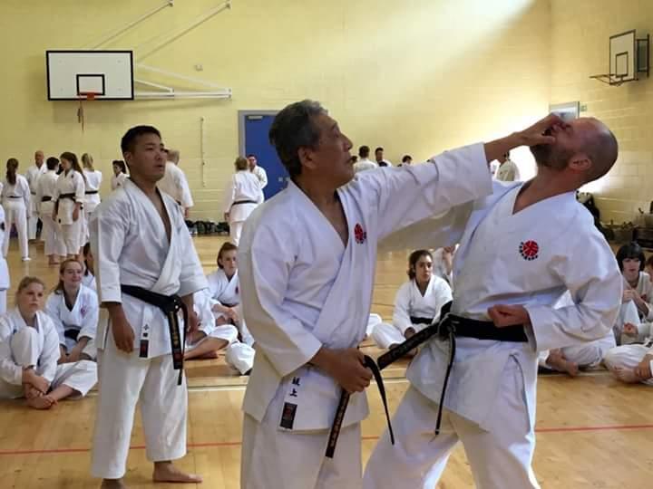 Itosu-ryu Seminar in Scotland