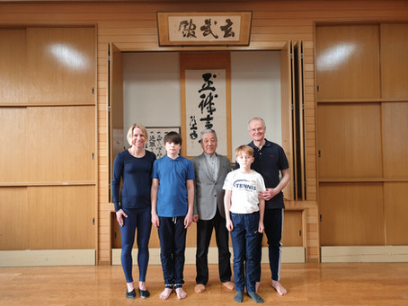 A memorable and learning karate lesson at the Itosu-Kai Head Quarter in Japan