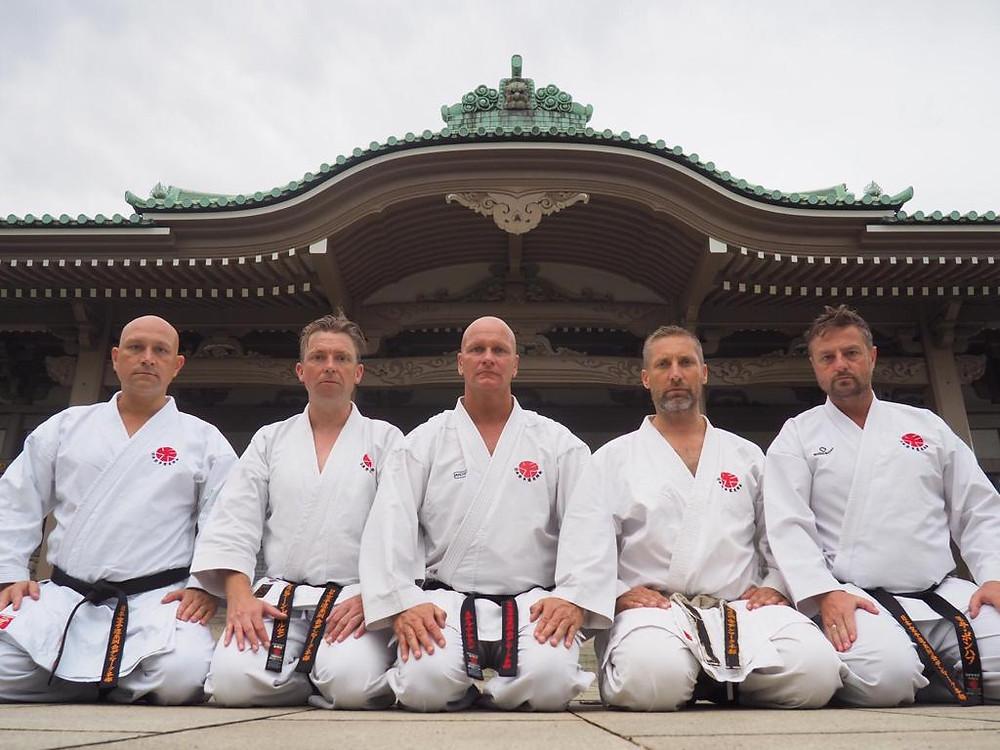 Team Itosu-kai Denmark in Japan