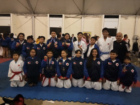 Itosu-kai Philippines Concluded a Good Game in Budo Matsuri Cup