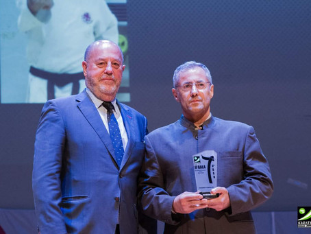Award Ceremony of the Andalusian Karate Federation