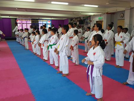 Karate Seminar in Malaysia 2019