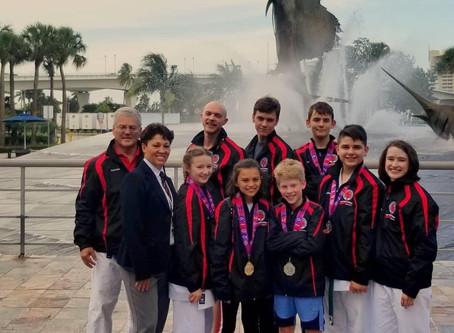 Itosu-kai Seattle, USA won AAU National Karate Championships!
