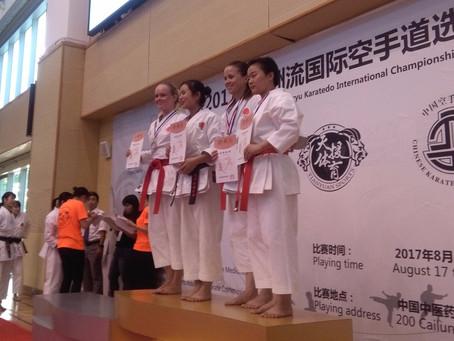 2017 Itosu-ryu International Karatedo Championships were held in Shanghai, China!