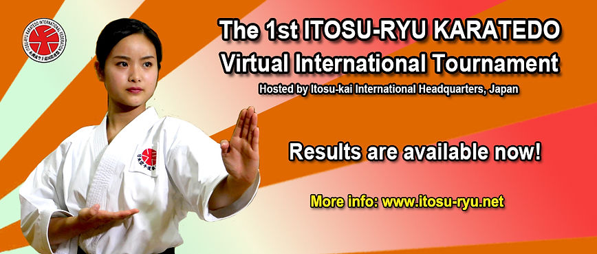 The 1st Itosu-ryu Karatedo Virtual International Tournament