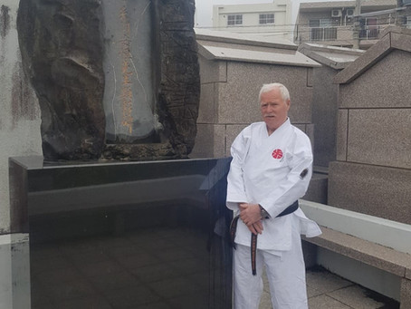 Visited Itosu-ryu Headquarters from Scotland