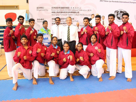 An Interview with the Gold Medalist (Malaysia): A Report about 2017 Itosu-ryu International Champion