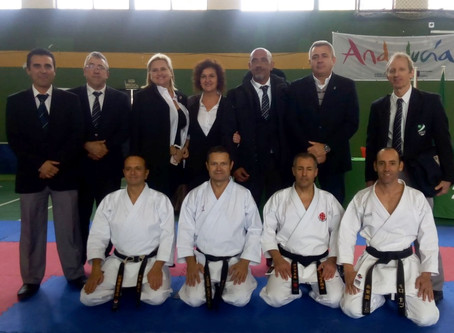 Sensei Rafael Conejo received the 6th dan degree from Spanish Karate Federation