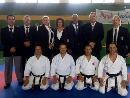 Sensei Rafael Conejo received the 6th dan degree from Spanish Karate Federation