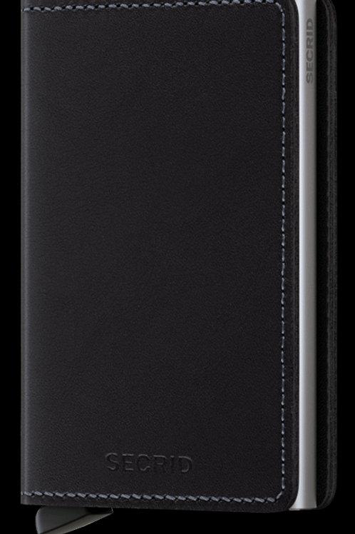 Secrid Slimwallet Original Black Portemonnaie