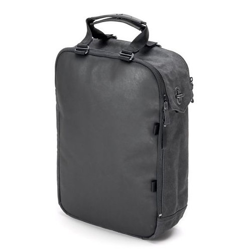QWSTION DAYPACK GRAPHITE LEATHER