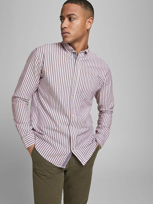 JPR CLASSIC OXFORD BUTTON DOWN STRIPE SHIRT