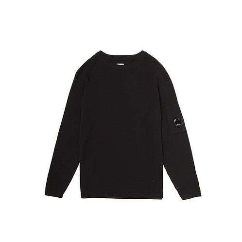 CP COMPANY LENS STRICKPULLOVER