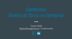 conference gestion stress