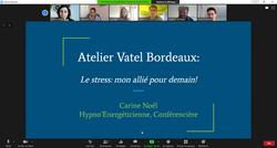 Atelier conçu pour Vatel Bordeaux/ Carine Noel