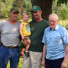 4 Generations-Henry Jr., Wright, Henry & Mason