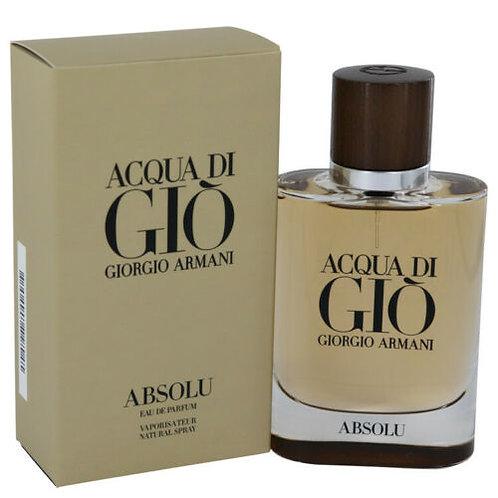 ACQUA DI GIO ABSOLU by GIORGIO ARMANI 2.5 EDP SPR (M)
