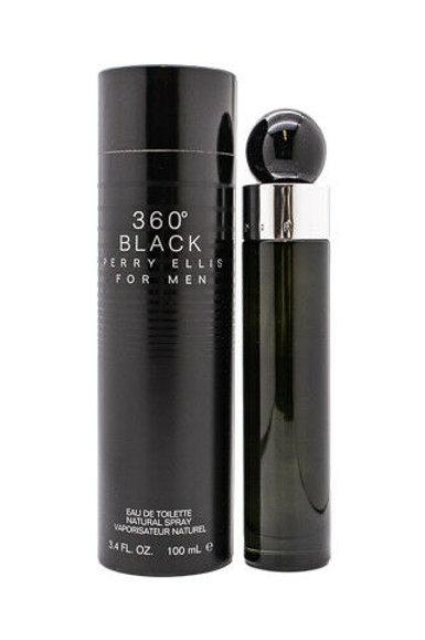 360 BLACK by PERRY ELLIS 3.4 EDT SPR (M)