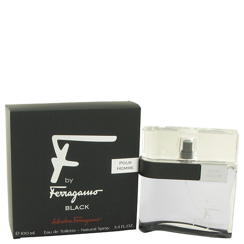 FERRAGAMO F BLACK 3.4 EDT SPR (M)