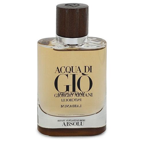 ACQUA DI GIO ABSOLU by GIORGIO ARMANI 2.5 EDP SPR TESTER (M)