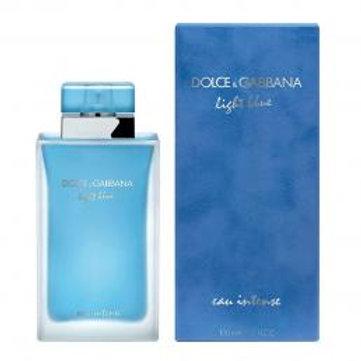 DOLCE & GABBANA LIGHT BLUE EAU INTENSE 3.3 EDP SP FOR WOMEN