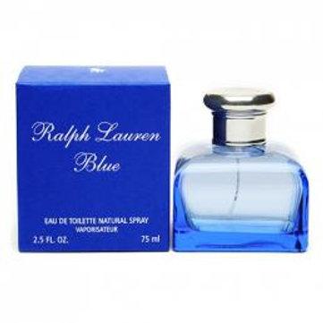 RALPH LAUREN BLUE 2.5 EDT SP FOR WOMEN