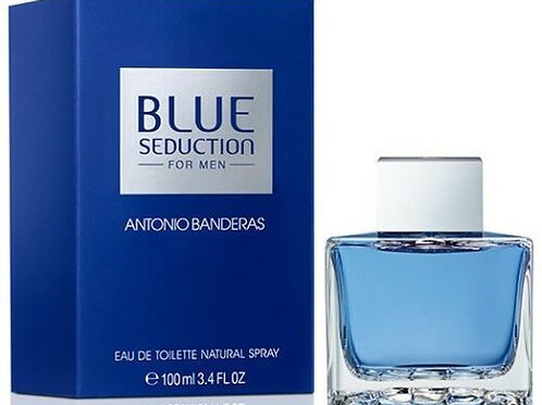 BLUE SEDUCTION by ANTONIO BANDERAS 3.4 EDT SPR (M)