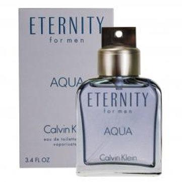 ETERNITY AQUA 3.4 OZ EDT SP FOR MEN