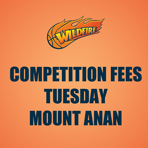 Tuesday Competition Fees - Mount Annan