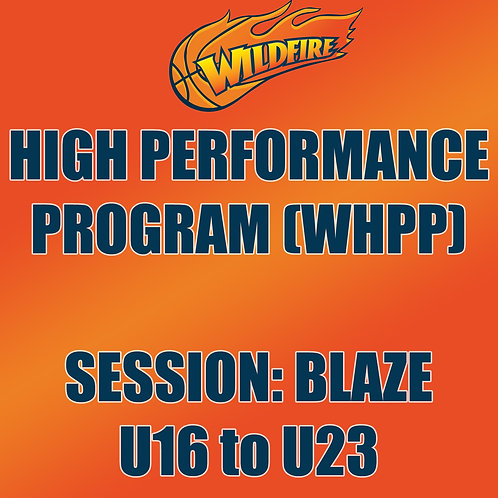 High Perfromance Program BLAZE CLASS