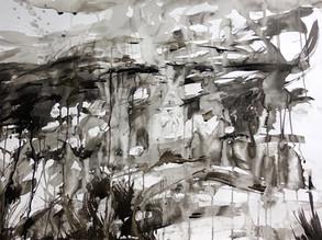 Flow Country ink study I - Heather Lander