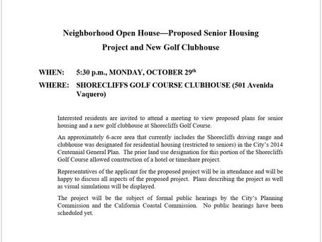 Attention Shorecliffs Residents