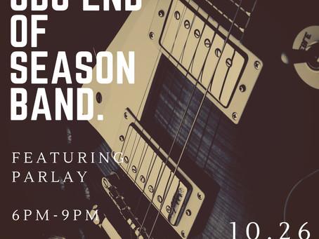 SBC End Of Season Band Oct 26!!