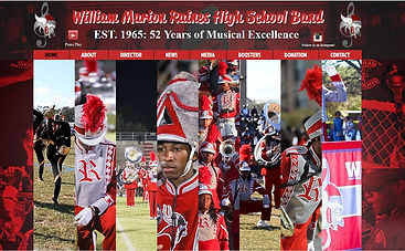 William M. Raines High School Band