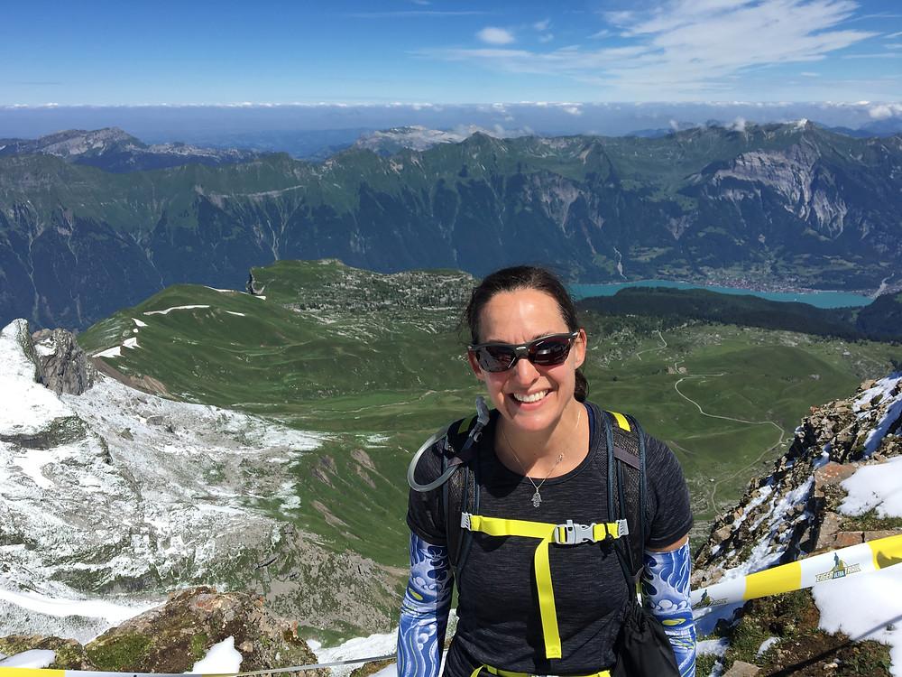 On top of Switzerland's Jungfrau region