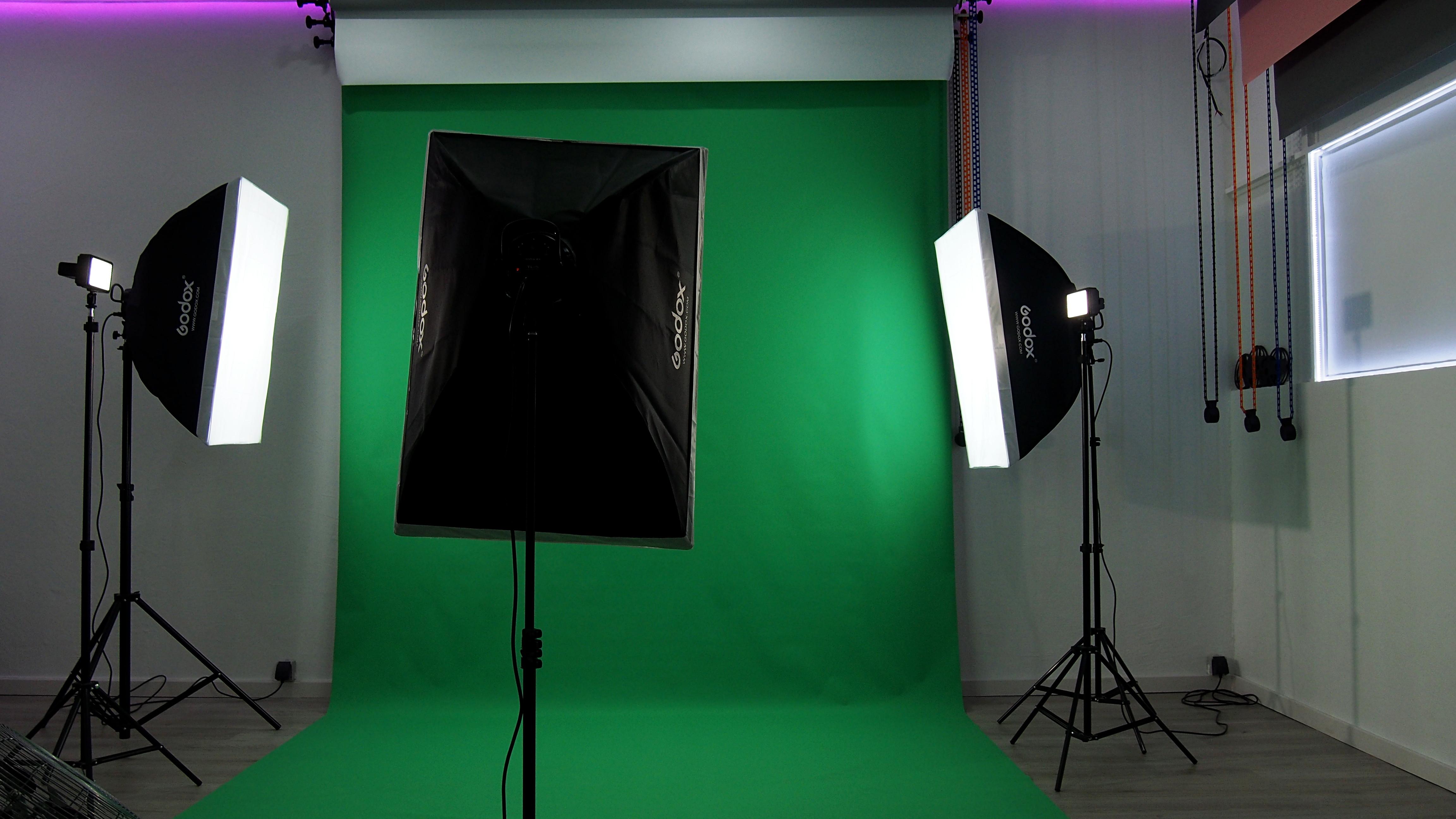 Studio Vidéo Fond Vert